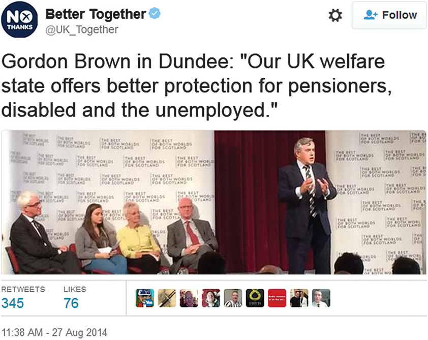 gordon brown said