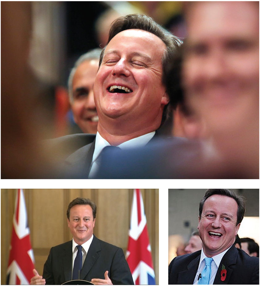 david cameron laughing