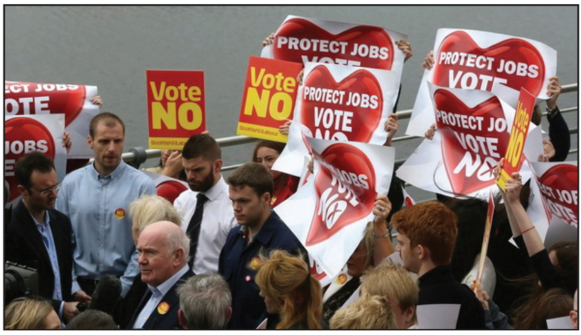 vote no for jobs