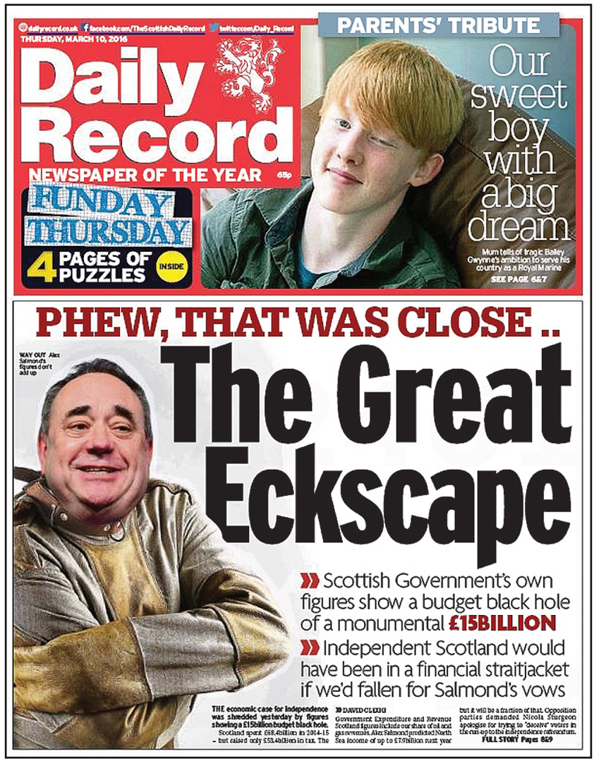 record the great eckscape